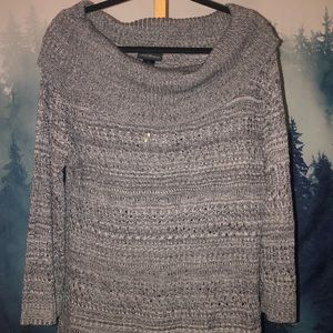 Lane Bryant cowl neck, knitted sweater, 18/20